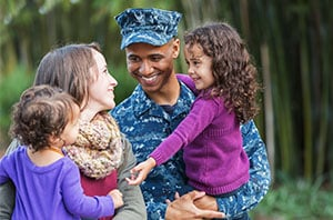 Military assistance available for families